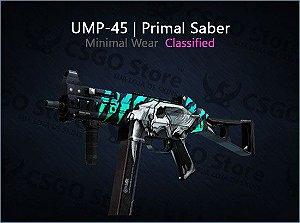 UMP-45 | Primal Saber (Minimal Wear)