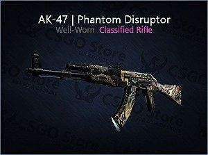 AK-47 | Phantom Disruptor (Well-Worn)