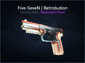Five-SeveN | Retrobution (Factory New)