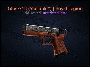 Glock-18 (StatTrak™) | Royal Legion (Field-Tested)