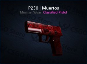 P250 | Muertos (Minimal Wear)