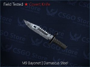 ★ M9 Bayonet | Damascus Steel