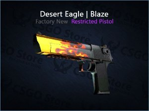 Desert Eagle | Blaze 0.008 (Factory New)