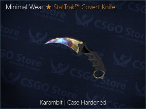 ★ Karambit | Case Handened
