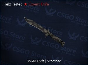 ★ Bowie Knife | Scorched