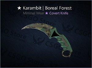 ★ Karambit | Boreal Forest (Minimal Wear)