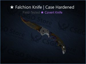 ★ Falchion Knife | Case Hardened (Field-Tested)