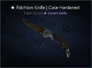★ Falchion Knife | Case Hardened (Field-Tested)
