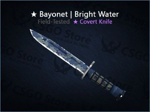 ★ Bayonet | Bright Water 0.16 (Field-Tested)