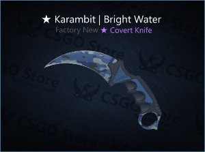 ★ Karambit | Bright Water (Factory New)