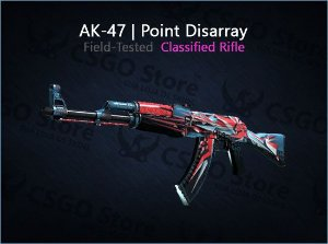 AK-47 | Point Disarray (Field-Tested)