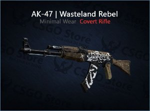 AK-47 | Wasteland Rebel (Minimal Wear)