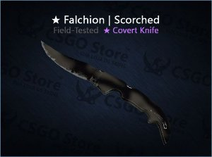 ★ Falchion Knife | Scorched (Field-Tested)