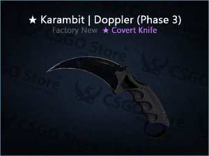 ★ Karambit | Doppler Phase 3 (Factory New)