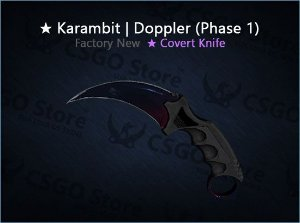 ★ Karambit | Doppler Phase 1 (Factory New)