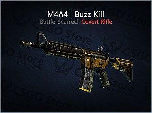 M4A4 | Buzz Kill (Battle-Scarred)