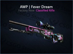 AWP | Fever Dream (Factory New)