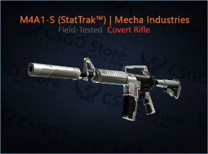 M4A1-S StatTrak™ | Mecha Industries (Field-Tested)