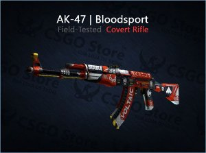 AK-47 | Bloodsport (Field-Tested)