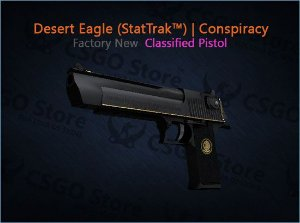 Desert Eagle (StatTrak™) | Conspiracy (Factory New)