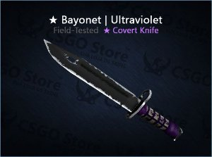 ★ Bayonet | Ultraviolet (Field-Tested)