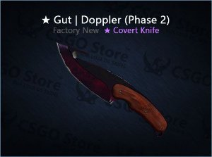 ★ Gut Knife | Doppler Phase 2 (Factory New)