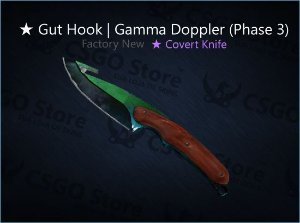 ★ Gut Knife | Gamma Doppler Phase 3 (Factory New)