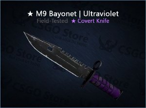 ★ M9 Bayonet | Ultraviolet (Field-Tested)