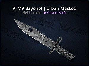 ★ M9 Bayonet | Urban Masked (Field-Tested)