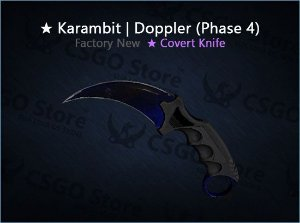 ★ Karambit | Doppler Phase 4 (Factory New)