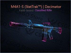 M4A1-S (StatTrak™) | Decimator (Field-Tested)