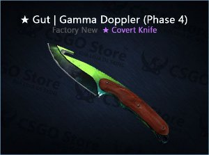 ★ Gut Knife | Gamma Doppler Phase 4 (Factory New)