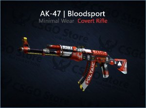 AK-47 | Bloodsport (Minimal Wear)