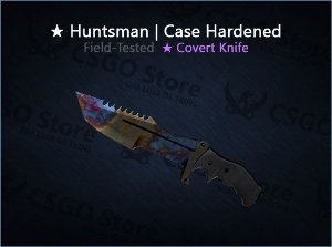 ★ Huntsman Knife | Case Hardened (Field-Tested)