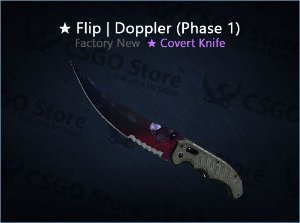 ★ Flip Knife | Doppler Phase 1 (Factory New)