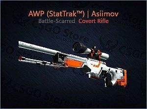 AWP (StatTrak™) | Asiimov (Battle-Scarred)