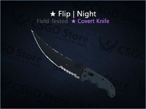 ★ Flip Knife | Night (Field-Tested)