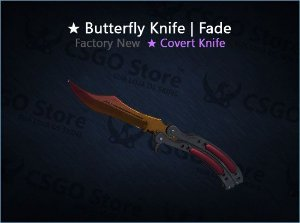 ★ Butterfly Knife | Fade (Factory New)