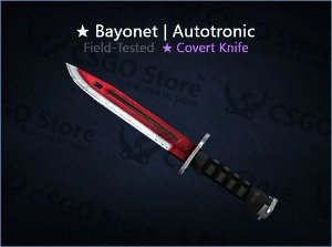 ★ Bayonet | Autotronic (Field-Tested)