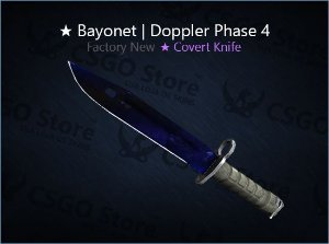 ★ Bayonet | Doppler Phase 4 (Factory New)