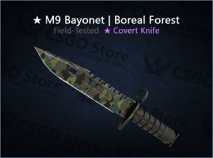 ★ M9 Bayonet | Boreal Forest (Field-Tested)