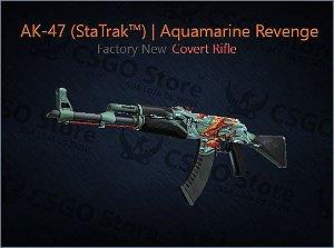 AK-47 (StatTrak™) | Aquamarine Revenge (Factory New)