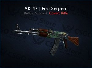 AK-47 | Fire Serpent (Battle-Scarred)