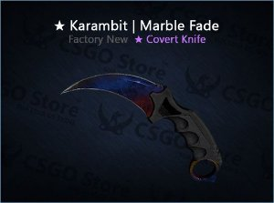 ★ Karambit | Marble Fade 0.008 (Factory New)
