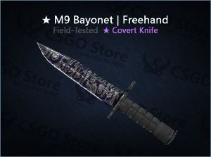 ★ M9 Bayonet | Freehand (Field-Tested)