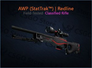 AWP (StatTrak™) | Redline (Field-Tested)