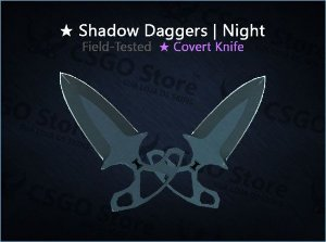★ Shadow Daggers | Night (Field-Tested)