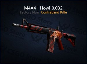 M4A4 | Howl (Factory New)