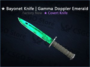 ★ Bayonet | Gamma Doppler Emerald (Factory New)