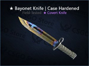 ★ Bayonet | Case Hardened (Field-Tested)
